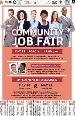 Community Job Fair Rowan